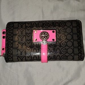 Marc by Marc Jacobs Jelly Jacquard Leather Wallet